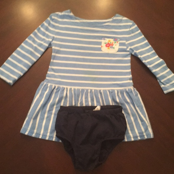 GAP Other - 3/$15* GAP blue striped dress